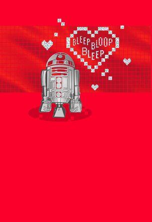 Star Wars™ R2-D2™ Droid Love Message Valentine's Day Card