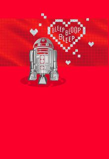 Star Wars™ R2-D2™ Droid Love Message Valentine's Day Card,