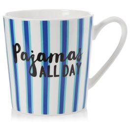 Pajamas All Day Mug, 18 oz., , large