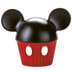 Mickey Mouse Cupcake Shaped Musical Trinket Box