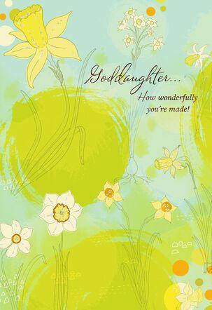 Daffodils Easter Card for Goddaughter
