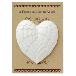 Angel Wings Heart Token of Faith, , large