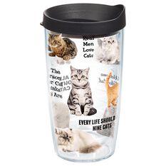 Tervis 174 Cat Sayings Tumbler 16 Oz Tumblers Hallmark