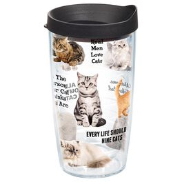 Tervis® Cat Sayings Tumbler, 16 oz., , large