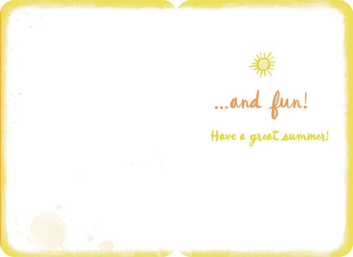 Have a Great Summer Card,