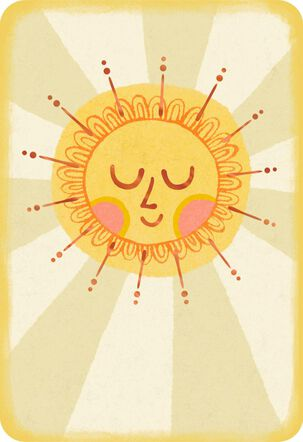 Sunny Thoughts Appreciation Card