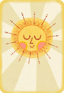 Sunny Thoughts Appreciation Card,