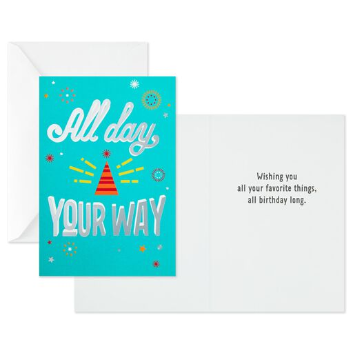 Dad Birthday card Greeting card Large Hallmark Men