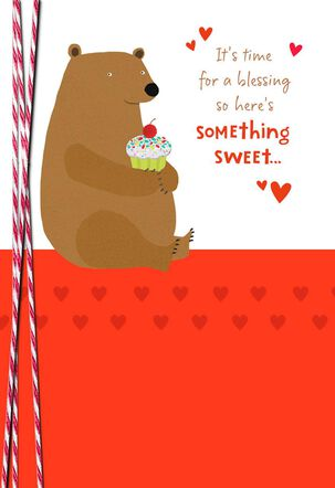 God's Sweet Love Religious Valentine's Day Card for a Child