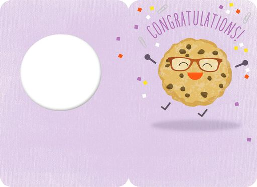 One Smart Cookie Congratulations Card,