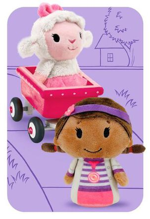 Doc McStuffins itty bittys® Greetings Just Because Card