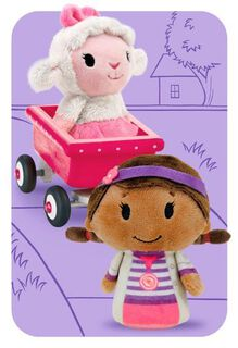 Doc McStuffins itty bittys® Greetings Just Because Card,