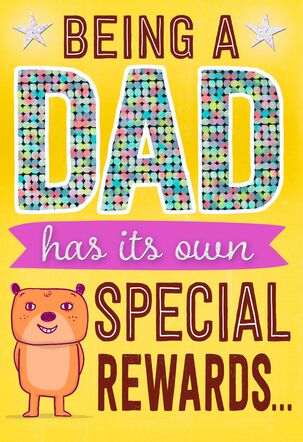 Special Rewards Father's Day Card