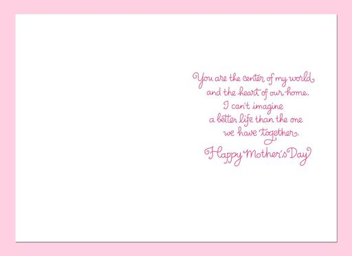 Mothers day cards hallmark i love our life together mothers day card for wife m4hsunfo