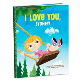 I/We Love You Personalized Book, , large