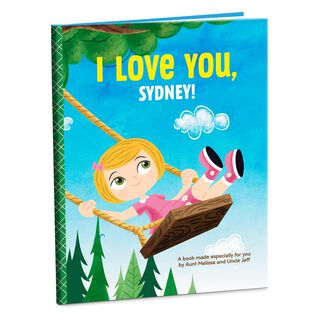 I/We Love You Personalized Book,