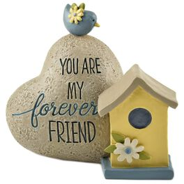Forever Friend Heart-Shaped Decorative Rock, , large