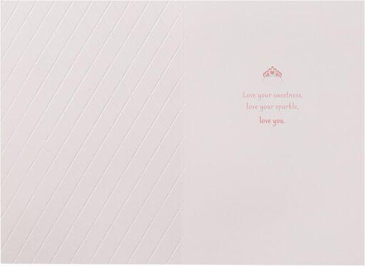 Love You Princess Valentine's Day Card,