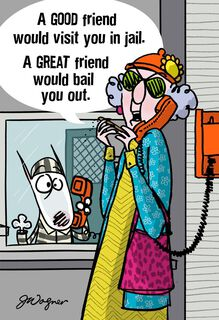 Friend Like Me Funny Just Because Card,