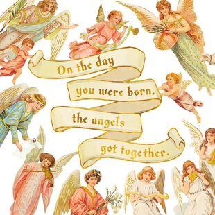Angels Birthday Card