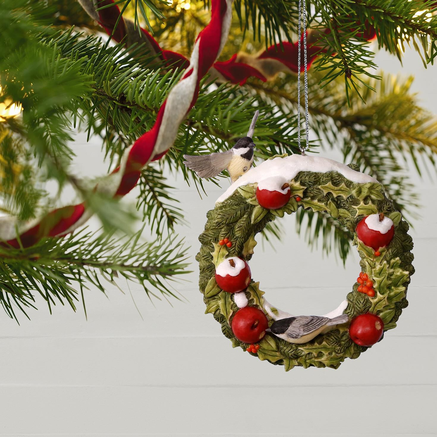 Marjoleinu0027s Garden Welcoming Wreath Ornament Marjoleinu0027s Garden Welcoming  Wreath Ornament ...
