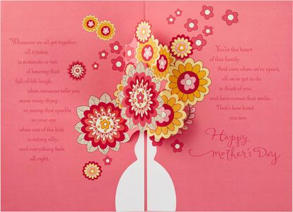 Flowers For Grandma Mothers Day Card