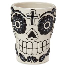 Day of the Dead Black and White Mug, , large