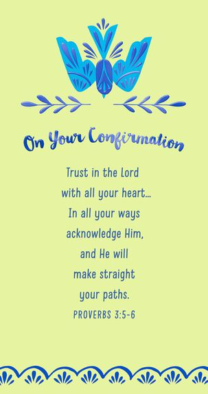 God's Love for You Confirmation Card Money Holder