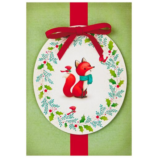 Fox And Cardinal Friends Christmas Cards Box Of 12