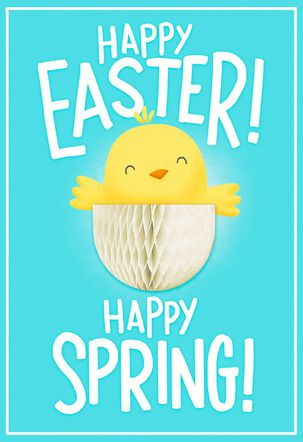 Hatching Chick Happy Everything Easter Card