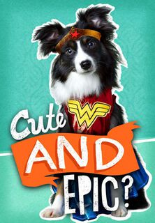 Cute and Epic Dog Funny Birthday Card,
