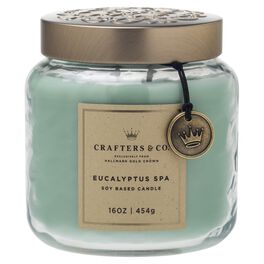 Crafters & Co. Eucalyptus Spa Candle, 16-oz, , large