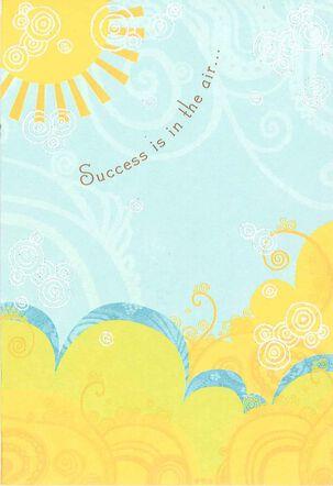 Sunshine and Success Graduation Card