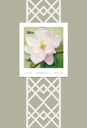 Magnolia Hope Sympathy Card