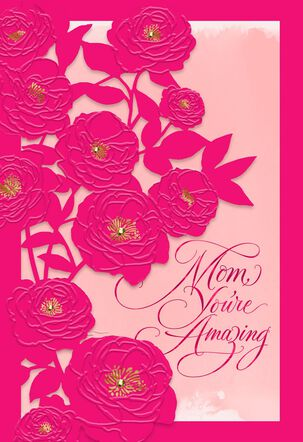 Mom, You're Amazing Mother's Day Card