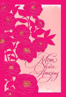 Mom, You're Amazing Mother's Day Card,