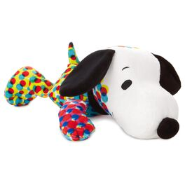 "Peanuts® Pop Art Snoopy Floppy Stuffed Animal, 8.5"", , large"