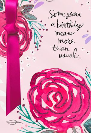 More Than Ever Birthday Card Supporting Susan G. Komen®