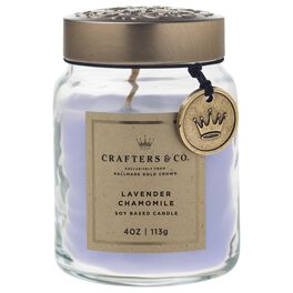 Crafters & Co. Lavender Chamomile Candle, 4-oz, , large