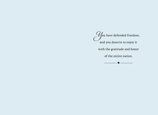United States Air Force Veterans Day Card,