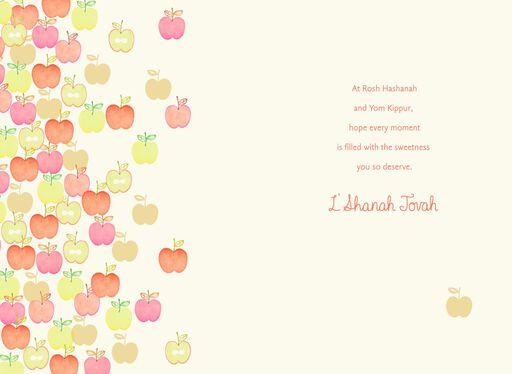 Apples and Honey Rosh Hashanah Card,