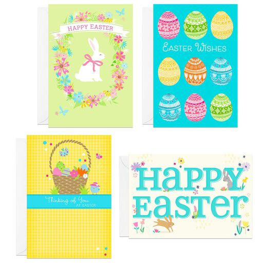 Assorted Holiday Icons Easter Cards Pack Of 8