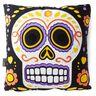 Candy Sugar Skull Pillow