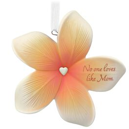 Thank You, Mom Flower Ornament, , large