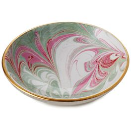 "Marbled Trinket Dish, 3"", , large"