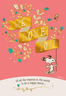 We Love You, Grandparents  Anniversary Card,