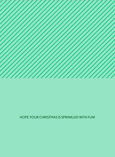 Merry Sprinkles Christmas Card,