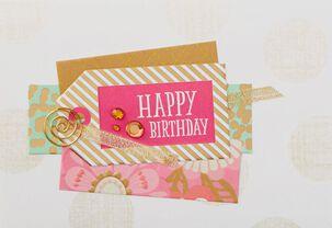 Amazing Girl Gift Tag Birthday Card