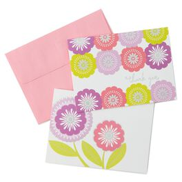Floral Assortment Thank You Notes, Pack of 50, , large