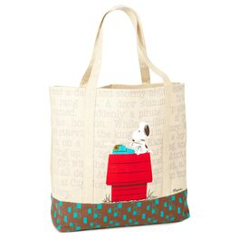 Peanuts® Snoopy Tote Bag, , large